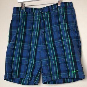 Nike plaid shorts